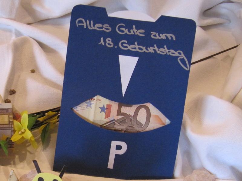 18 Geburtstag Karte Selber Basteln