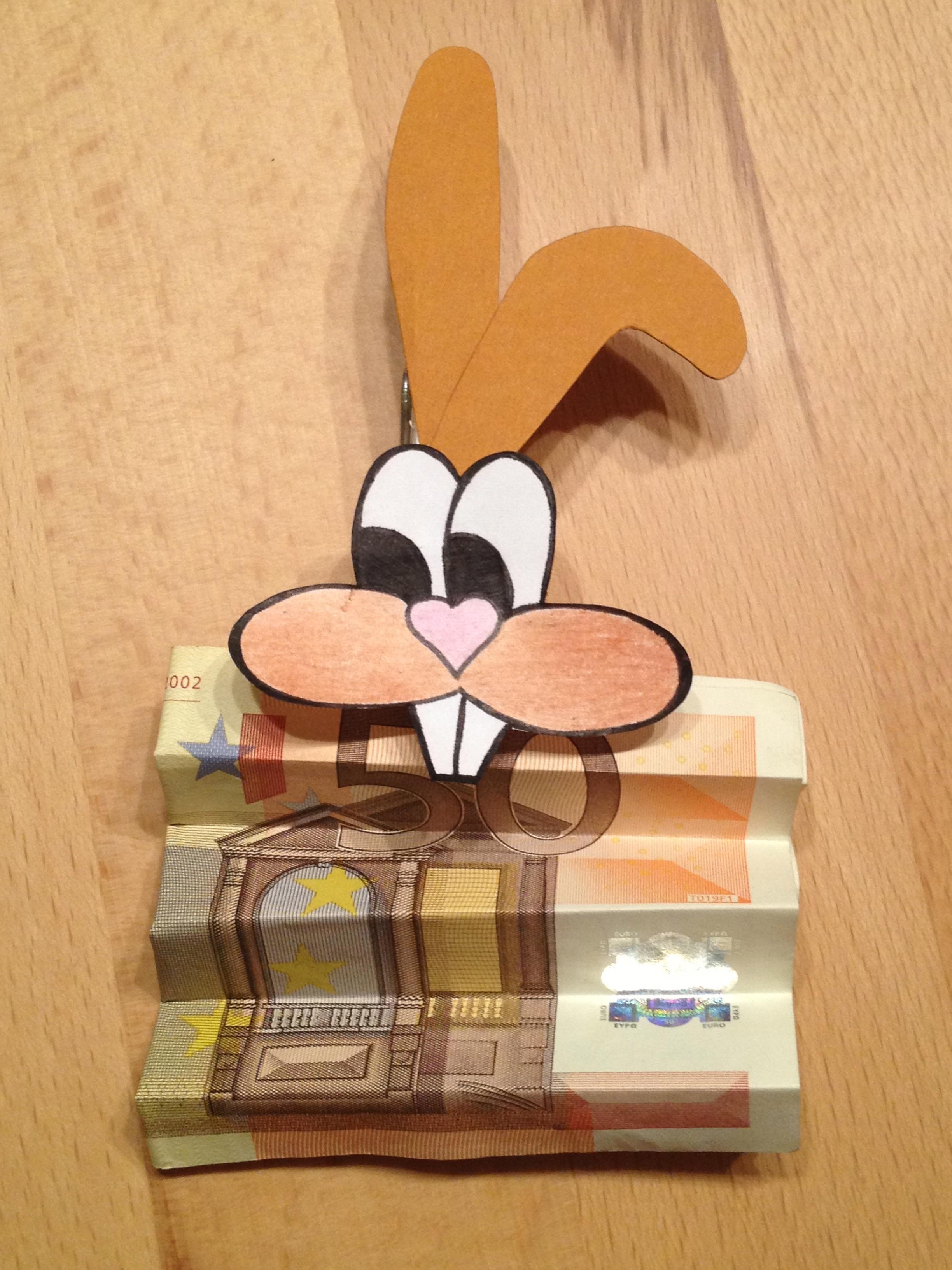 Geldgeschenk ostern